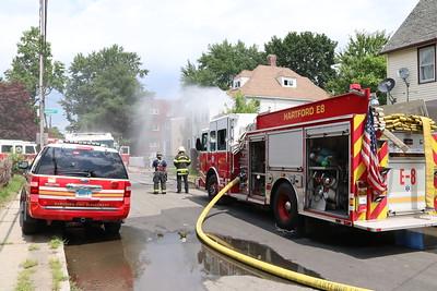 Working Fire - 16 James St, Hartford, CT - 7/22/20