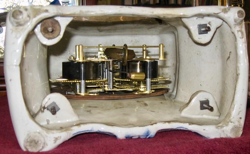 Inside case bottom