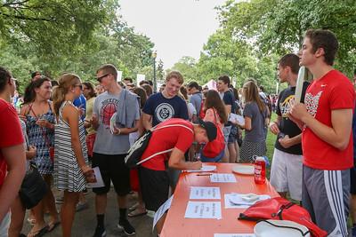 Autumn Student Involvement Fair 2016