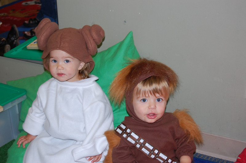 Chewy & Princess Leia
