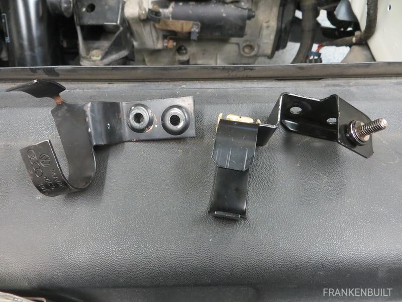 Power steering brackets