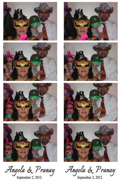 Angela & Pranay September 2, 2012
