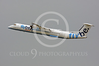 Fly Be British Europe Bombardier Canadair Dash 8 Series 400 Airliner Pictures