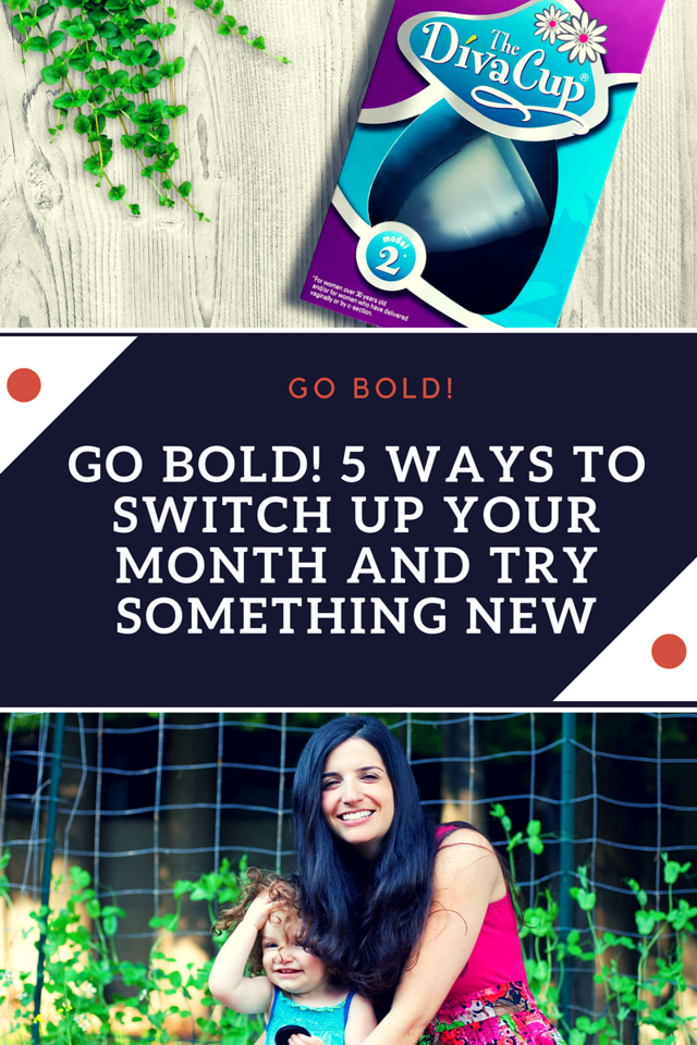 Tired of the same old same old? Here are 5 BOLD ways to switch up your month and try something new! Adventure's calling #ad #PeriodConfidence #TryTheDivaCup