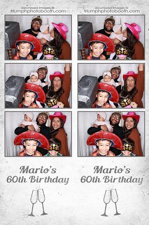 11/29/20 - Mario's 60th Birthday