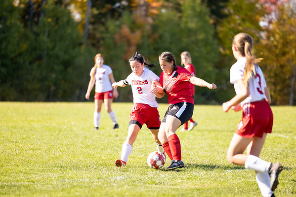Katahdin Varsity girls VS Fort Fairfield 10/9/21