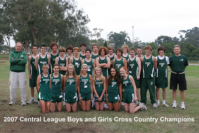 2007 CC Team Photo and MVP's