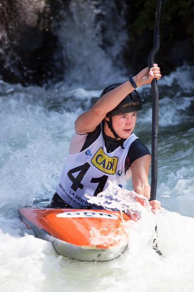 Lizzie Neave (Great Britain), K1 - ICF Canoe Slalom World Championships 2009, La Seu d'Urgell (Spain)