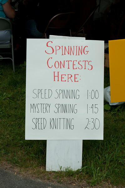 Spinning contests.