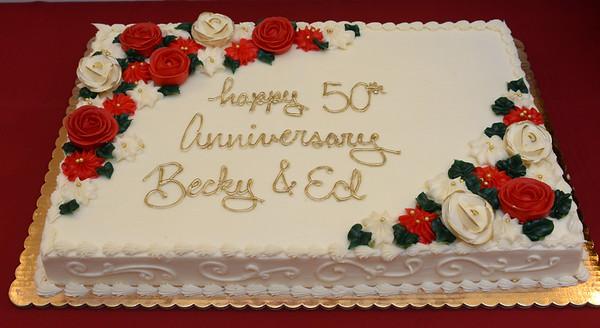 Ed  & Becky O'Hanlon 50th Anniversary