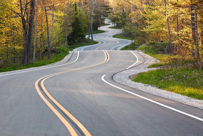 Spring Tummytickle - Road to Northport (Door County - Wisconsin)