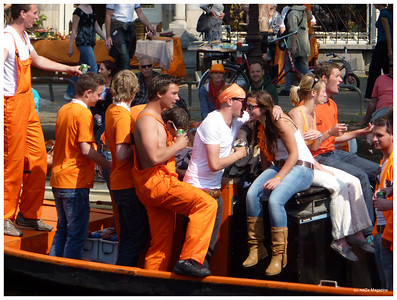 Queens Day - Amsterdam