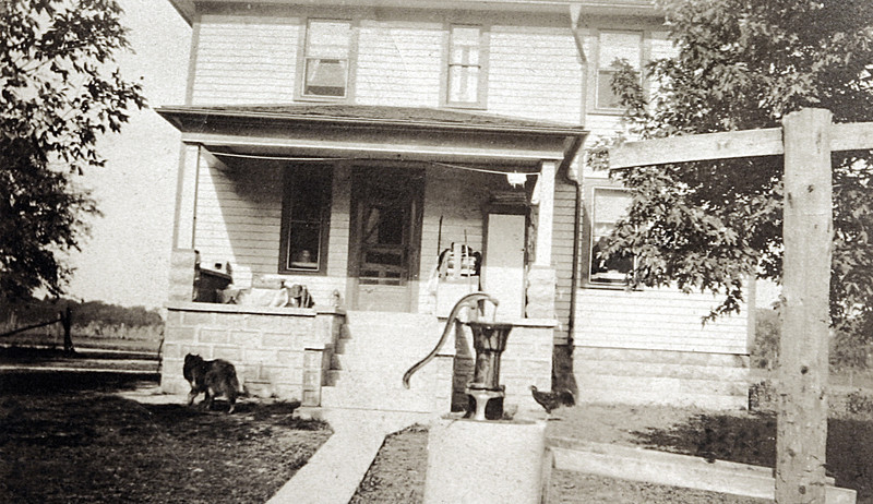 The back of my House in 1926.JPG