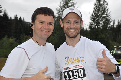 Cascade Express half marathon, 2018