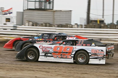 UMP Late Model Summer Sizzler, South Buxton Raceway, Merlin, ON, August 1, 2009
