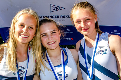 Medaljer for juniorroere lørdag