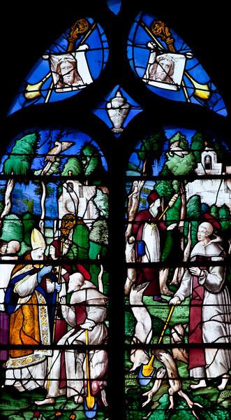Rouen, Saint-Patrice Church, Saint Fiarce