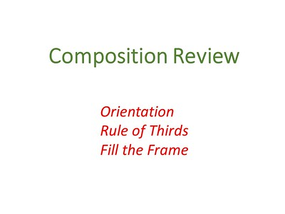 Composition Review 10/17