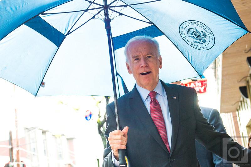 Vice President Joe Biden's Visit, Little Italy Cleveland