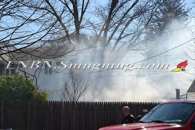Bellmore F.D. House Fire Martin Ave 4-5-12