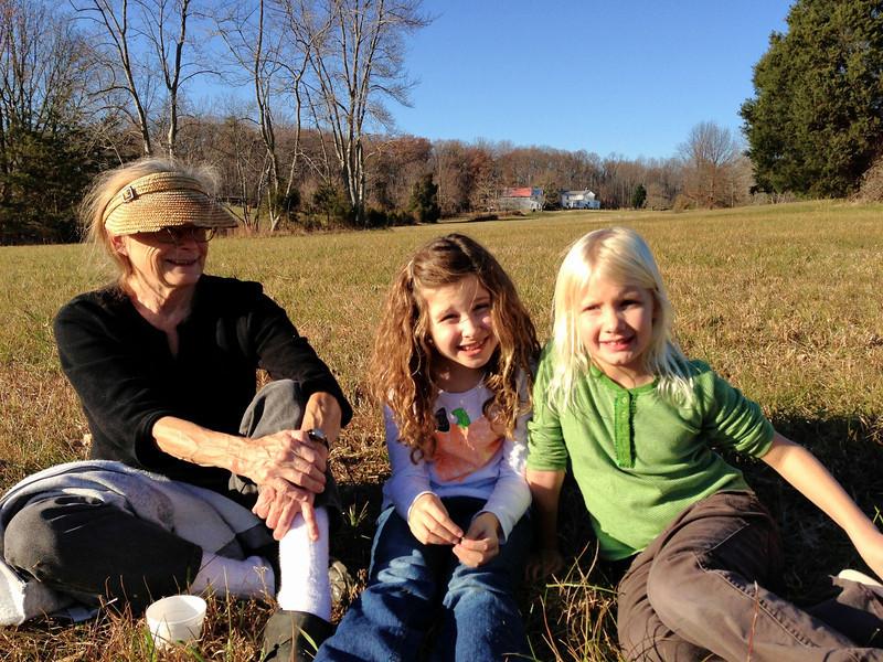 Gma, Madeline and Kristina