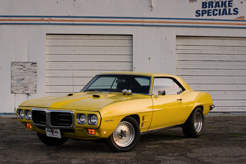 My 455-powered 1969 Firebird 400 at the old Castle Air Force Base.