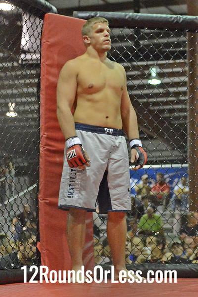 MMA Bout #2  Mojtaba  Wali (Fairfax, VA) vs Chris Dempsey (Pittsburgh, PA)  205 Lbs.
