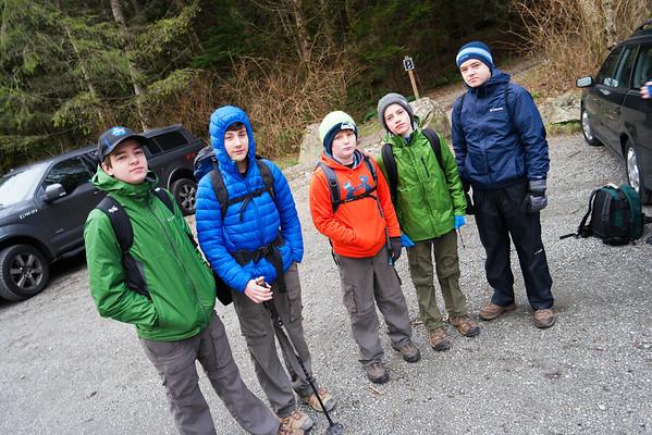 Troop 80 Hike Twin Falls 11miles