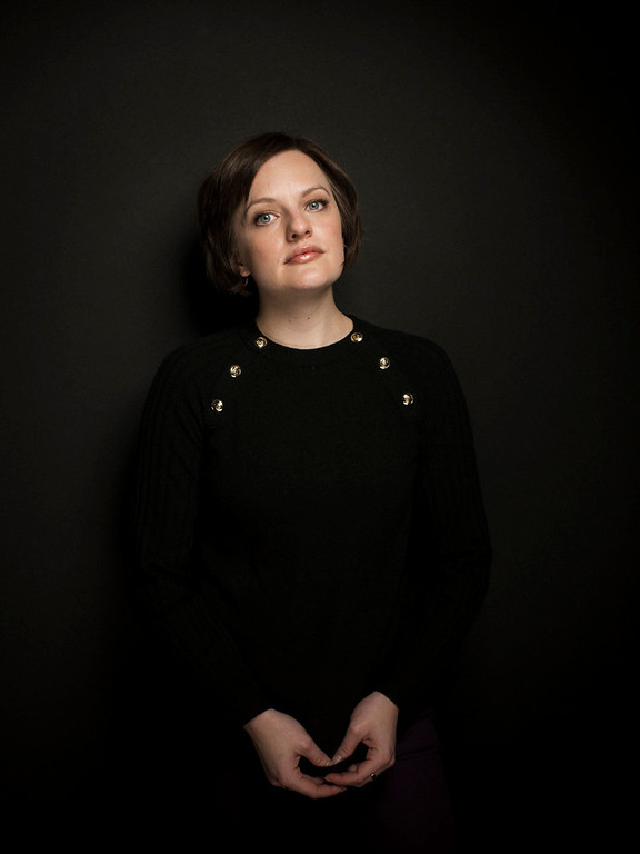 ". Elisabeth Moss from the film ""Top of the Lake,\"" poses for a portrait during the 2013 Sundance Film Festival at the Fender Music Lodge, on Friday, Jan. 19, 2013, in Park City, Utah. (Photo by Victoria Will/Invision/AP Images)"