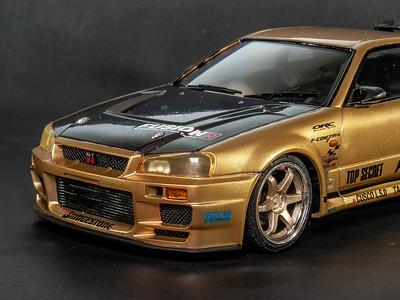 Top Secret Nissan Skyline R34 GTR