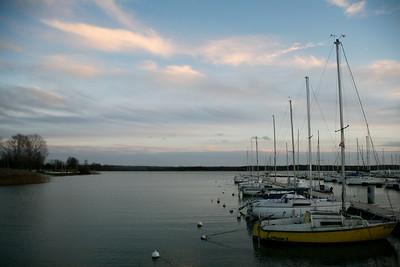 MEUSE (55) - LAC DE MADINE / Port, Bateaux