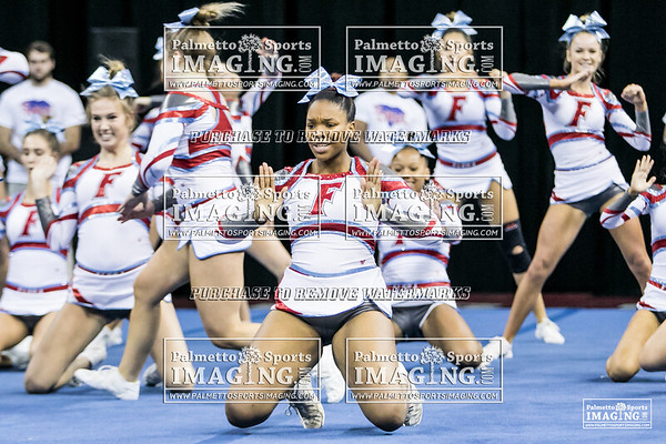 AC Flora High School State Cheer 2018