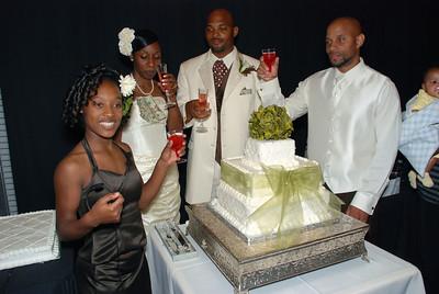 Kandice & Antwain Scales Wedding Oct 18, 2008