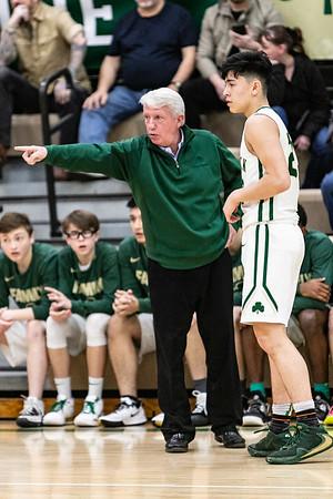 2019-12-14 Basketball Varsity - Pats vs Montini