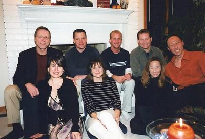 2-28-2004 Spurrier, Burgess, Gray, Brian M Dinner