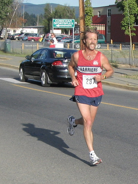 2005 Run Cowichan 10K - I'm only 14.  You're all going to pay next year