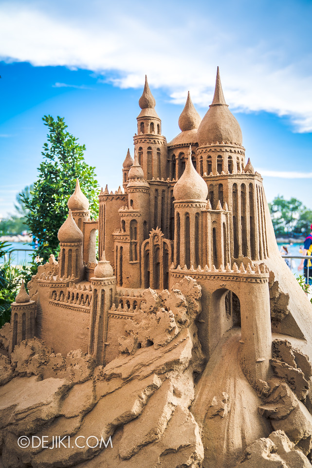 Sentosa Sandsation 2017 - Sandcastle in the Sand