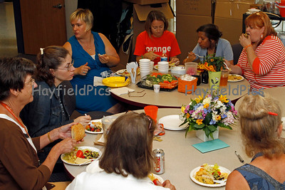 Science Department Lunch 6/22/10