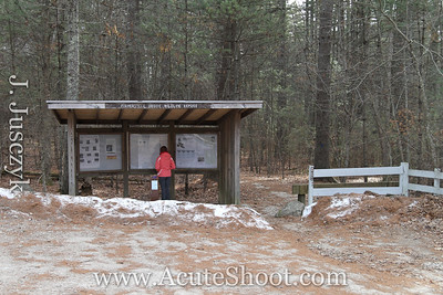 Fisherville Brook Wildlife Refudge, February 2012