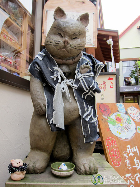 Lucky Cat in Kamakura, Japan