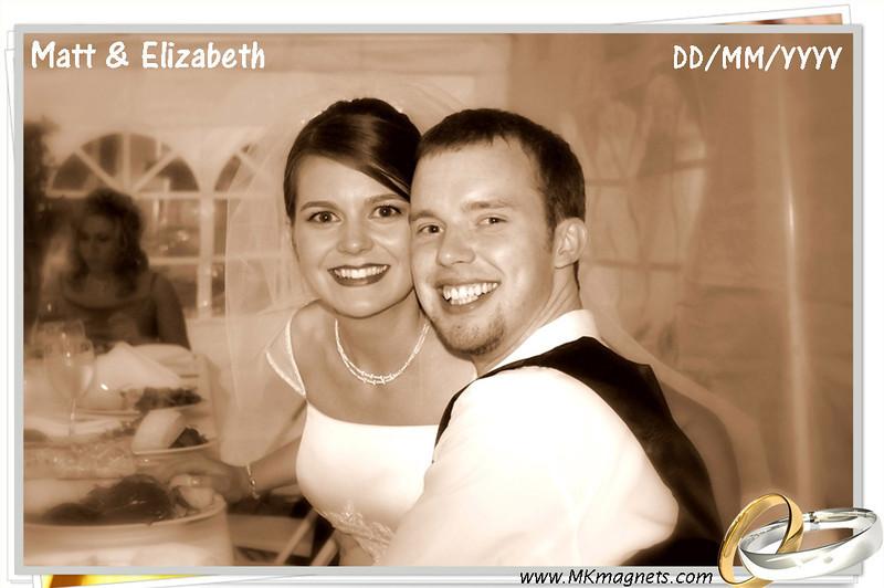 wedding magnet frame - sepia rings.jpg
