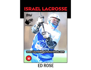 Israel Ed Rose 1986TOPPS (NYS2016)