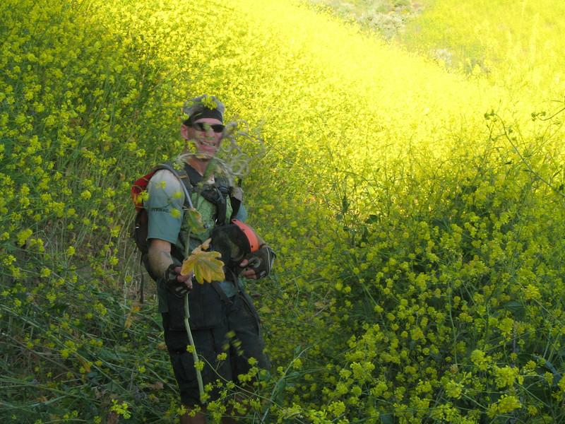 20080417005-New Millenium Trail, trailwork, Hans.JPG
