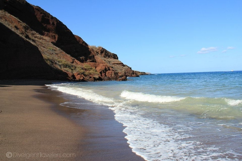 Red Beach in Maui