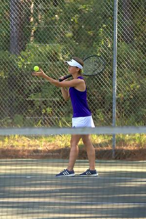 West Bladen vs East Bladen 2019 tennis