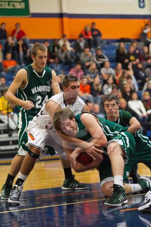 Wheaton College Men's Basketball vs Wilmington (96-61)/ Lee Pfund Classic Tournament Final, November 19, 2011