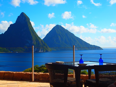Landscapes of St. Lucia
