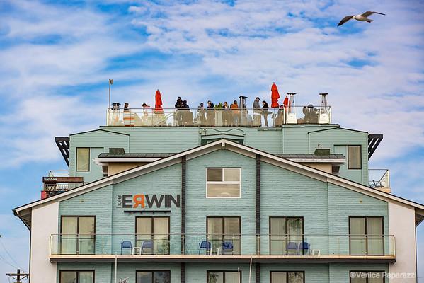 Hotel Erwin.  1697 Pacific Avenue, Venice, CA 90291,  310.452.1111  HotelErwin.com