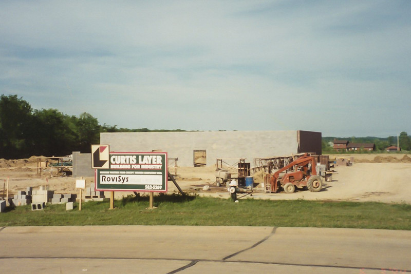 New Danner Drive facility under construction, Spring 1994