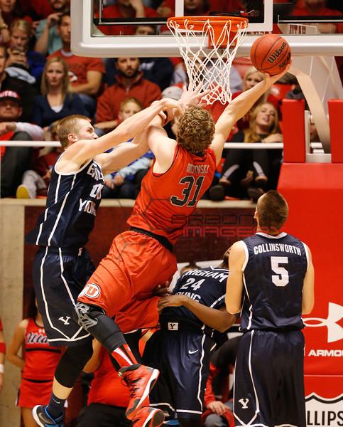 NCAABB: Brigham Young at Utah
